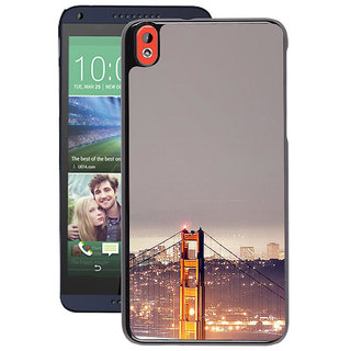 Instyler Digital Printed Back Cover For Htc 826 HTC826DS-10292
