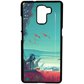 Instyler Digital Printed Back Cover For Huawei Honor 7 HWH7DS-10087