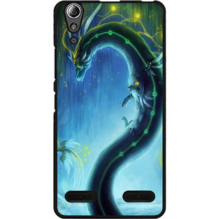 Instyler Digital Printed Back Cover For Lenovo A6000 Plus LENA6000PDS-10094