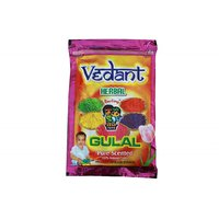 Vedant Herbal Gulal Pouch Pack 1 Pcs 100Gms Vedant