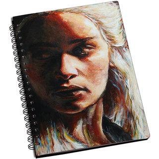ShopMantra Khaleesi Canvas Painting Notebook