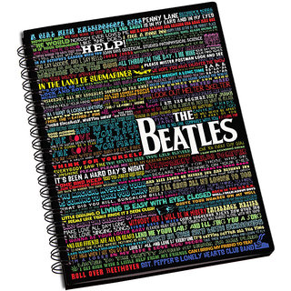 ShopMantra The Beatles Song Lyrics Notebook