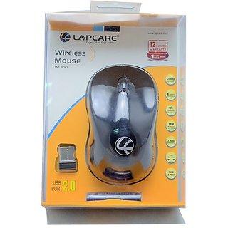 Lapcare WL 300 Wireless Optical Mouse Black