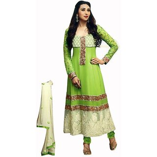 Sunaina Synthetic Self Design Salwar Suit Dupatta Material (Un-stitched) FABE96XYFBRHFTDC