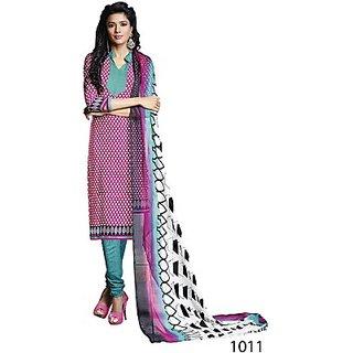 Sunaina Crepe Printed Salwar Suit Dupatta Material (Un-stitched) FABEBR5ZPJXYBAEQ