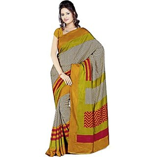 Sunaina Printed Art Silk Sari SARDQRUNX8666BPG