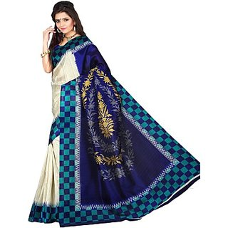 Sunaina Printed Fashion Art Silk Sari SAREDF5EQJCS4RBJ