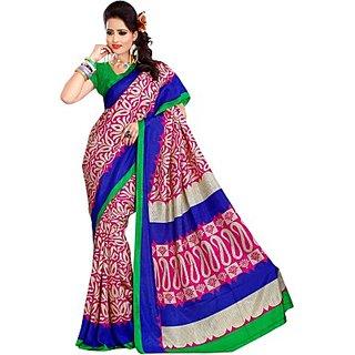 Sunaina Printed Fashion Art Silk Sari SAREDF6YDZGZXCRZ
