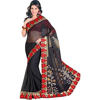 Sunaina Printed Fashion Art Silk Sari SAREDF6YZVSKENV8