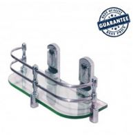 GLASS SHELF (18 inches),Bathroom Glass Shelf