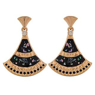 Maayra Terrific Multicolour Designer Casualwear Drop Earrings