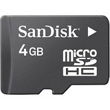 Pack of 4 Sandisk 4GB Micro SD Card