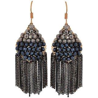 Maayra Hot Multicolour Designer Cocktail Dangler Earrings