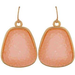 Maayra Darling Off-White Designer Cocktail Dangler Earrings