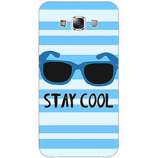 Jugaaduu Quotes Stay Cool Back Cover Case For Samsung Galaxy J7 - J1161164