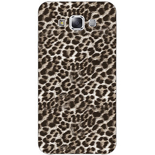Jugaaduu Cheetah Leopard Print Back Cover Case For Samsung Galaxy J5 - J1150077