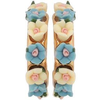 Maayra Grand Multicolour Designer Casualwear Drop Earrings