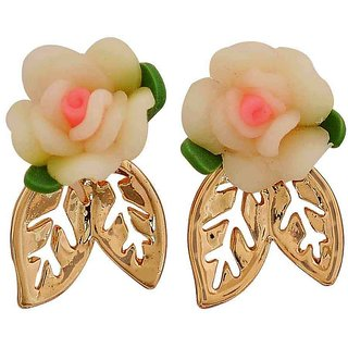 Maayra Shining Multicolour Designer Get-Together Drop Earrings