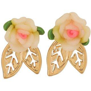 Maayra Cool Multicolour Designer Cocktail Stud Earrings