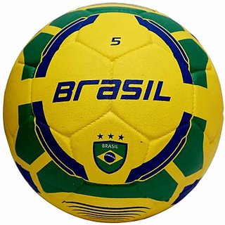 Vector X Brasil Rubber Moulded Football - Size 5