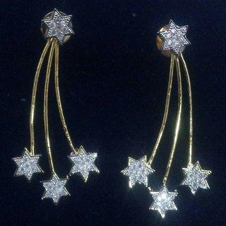 American diamond fancy earings