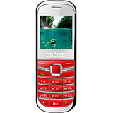 Crome Mini Dual Sim Gsm Ultra Micro Mobile Phone with Manufecturer Warranty 1 Yr