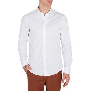 Saffire White Linen Shirt