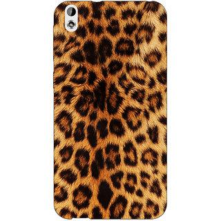 Jugaaduu Cheetah Leopard Print Back Cover Case For HTC Desire 816 - J1050080