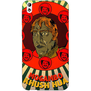 Jugaaduu Bollywood Superstar Mr. India Mogambo Back Cover Case For HTC Desire 816G - J1071108