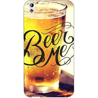 Jugaaduu Beer Quote Back Cover Case For HTC Desire 816 Dual Sim - J1061210