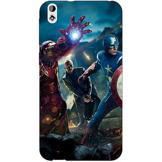 Jugaaduu Superheroes Ironman Back Cover Case For HTC Desire 816 Dual Sim - J1060881