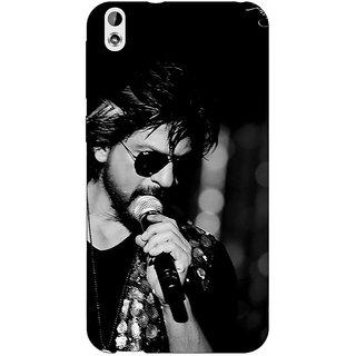 Jugaaduu Bollywood Superstar Shahrukh Khan Back Cover Case For HTC Desire 816 Dual Sim - J1060904