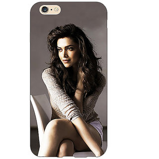 Jugaaduu Bollywood Superstar Deepika Padukone Back Cover Case For Apple iPhone 6S - J1081038