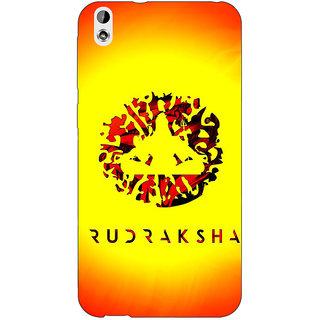 Jugaaduu Rudraksha Back Cover Case For HTC Desire 816 Dual Sim - J1061264