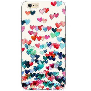 Jugaaduu Hearts in the Air Pattern Back Cover Case For Apple iPhone 6S Plus - J1090234