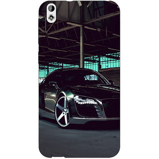 Jugaaduu Super Car Audi Back Cover Case For HTC Desire 816 Dual Sim - J1060620