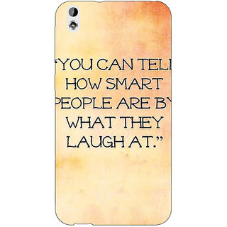 Jugaaduu Quote Back Cover Case For HTC Desire 816 - J1051357