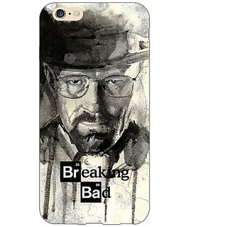 Jugaaduu Breaking Bad Heisenberg Back Cover Case For Apple iPhone 6S - J1080419