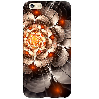 Jugaaduu Abstract Flower Pattern Back Cover Case For Apple iPhone 6S - J1081507