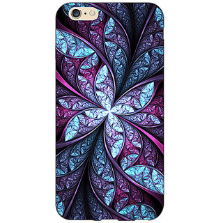 Jugaaduu Abstract Flower Pattern Back Cover Case For Apple iPhone 6S - J1081520