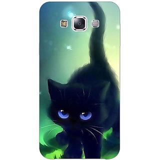 Jugaaduu Cute Black Kitten Back Cover Case For Samsung Galaxy J2 - J1041138