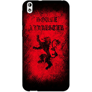 Jugaaduu Game Of Thrones GOT House Lannister  Back Cover Case For HTC Desire 816G - J1070166