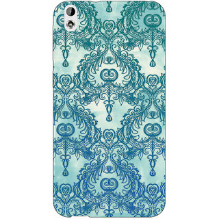 Jugaaduu Vintage Pattern Back Cover Case For HTC Desire 816 Dual Sim - J1060223
