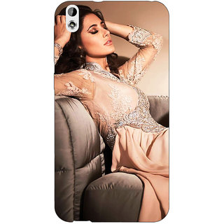 Jugaaduu Bollywood Superstar Nargis Fakhri Back Cover Case For HTC Desire 816 Dual Sim - J1061010