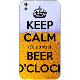 Jugaaduu Beer Quote Back Cover Case For HTC Desire 816G - J1071259