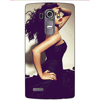 Jugaaduu Bollywood Superstar Priyanka Chopra Back Cover Case For LG G4 - J1100970