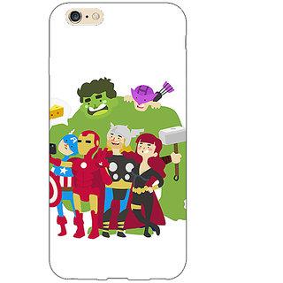 Jugaaduu Superheroes Baby Avengers Back Cover Case For Apple iPhone 6S Plus - J1090337