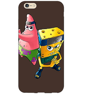 Jugaaduu Spongebob Patrick Back Cover Case For Apple iPhone 6S - J1080471