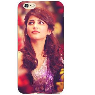 Jugaaduu Bollywood Superstar Shruti Hassan Back Cover Case For Apple iPhone 6S Plus - J1091074