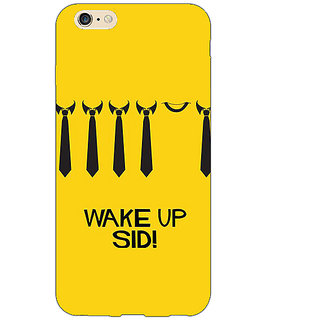 Jugaaduu Bollywood Superstar Wake Up Sid Back Cover Case For Apple iPhone 6S Plus - J1091096